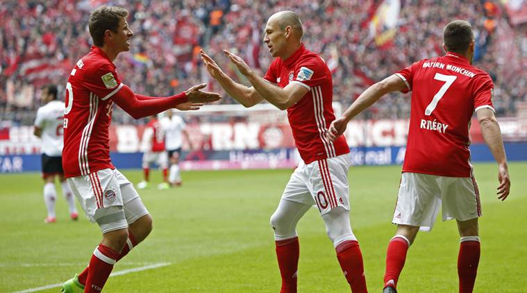 Lacklustre Bayern dig deep to rescue 2-2 draw against Mainz