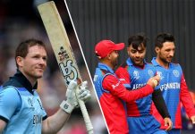 Afghanistan vs England CWC19