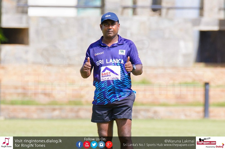 Sudath Sampath was the man behind Sri Lanka's Under 20 win last year
