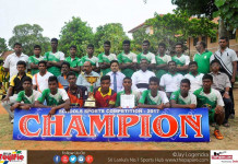 St.Henry's College, Jaffna U20 Champions - 2017 Northern Provincial Inter School Football Tournament