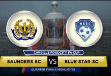saunders v blue star highlights