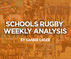 schools rugby analysis