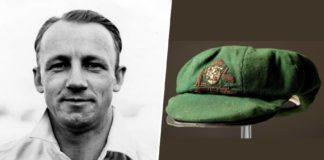 Australian cricketer Don Bradman