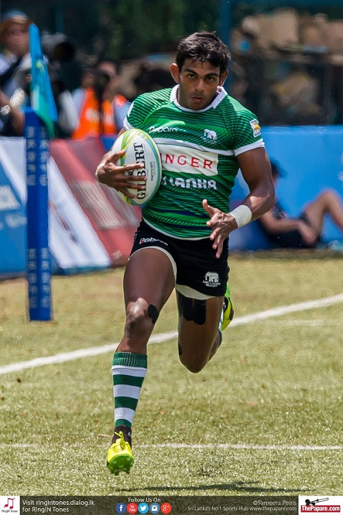 Henakankanamage was the highlight in the Sri Lanka side scoring nine tries in total including a hat-trick against Malaysia