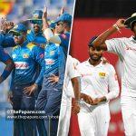 Sri Lanka ODI and Test squads