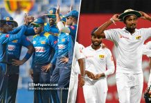 Sri Lanka ODI and Test squads