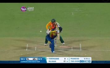 Lahiru Thirimanne Wicket - SL v SA