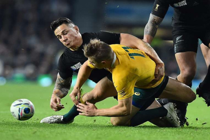 All Blacks centre Sonny Bill Williams is eyeing the sevens game as a platform to try to achieve Olympic greatness.PHOTO: AGENCE FRANCE-PRESSE
