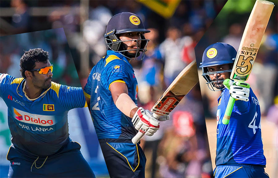 SL T20i vs Ban - Squad announced