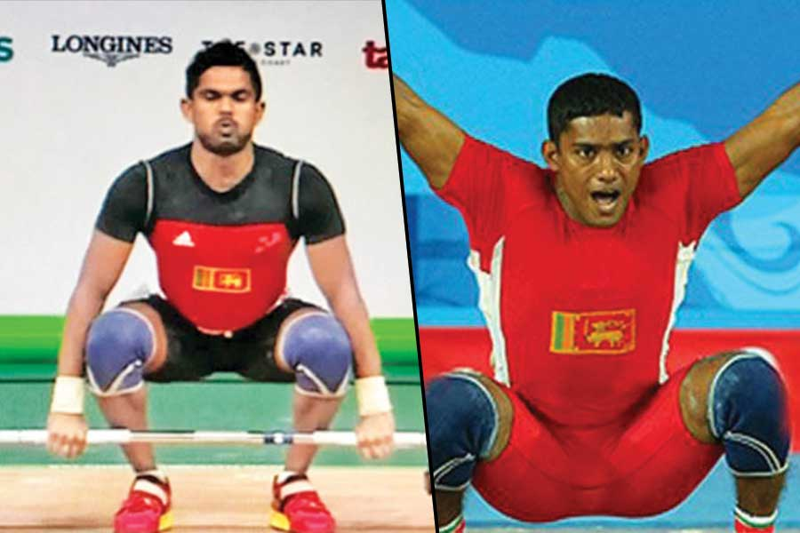 sri lankan weightlifting