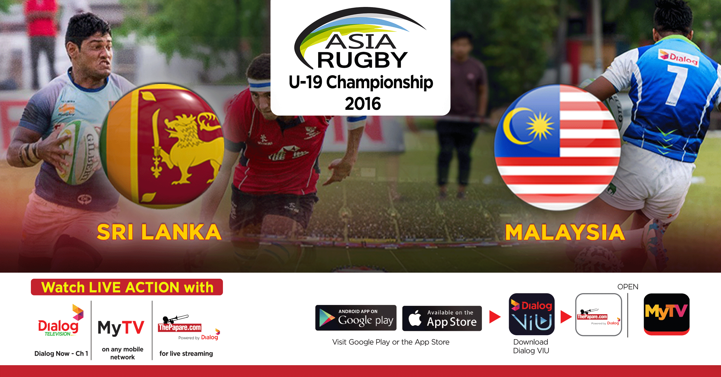 Match Replay Sri Lanka V Malaysia Asia Rugby Th Dec Thepapare Com