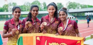srilanka women relay team
