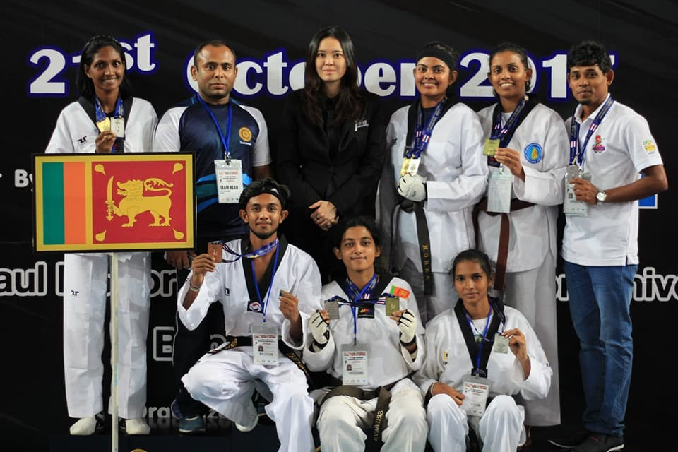 Taekwondo team