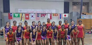 Sri Lanka beat Thailand Asian Youth Netball Championship 2019