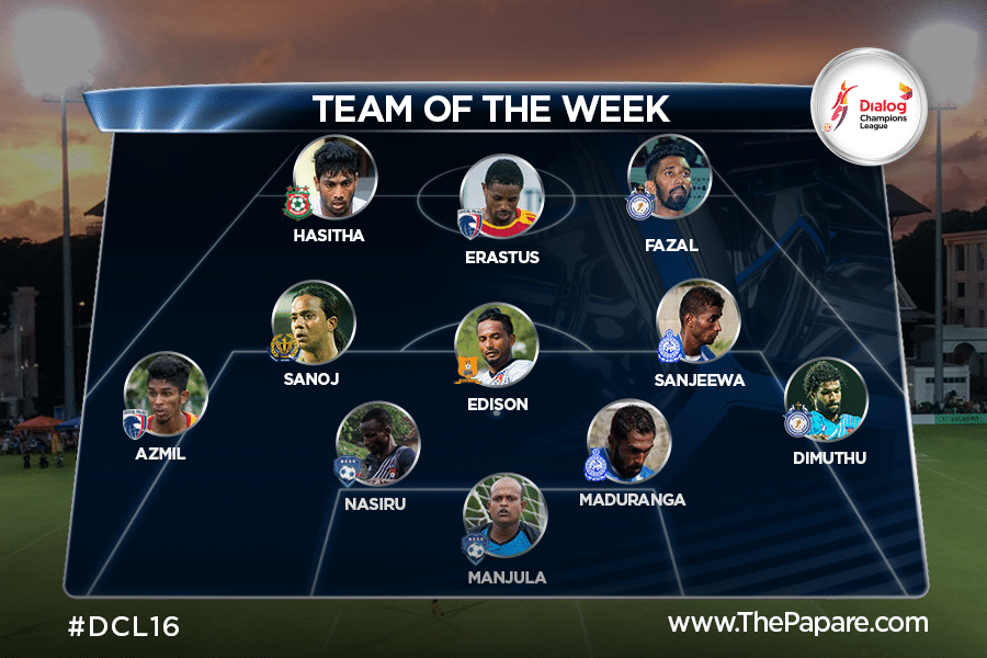 DCL16 Team of the week 01