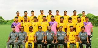 Sri Lanka U18 Boys Football Team