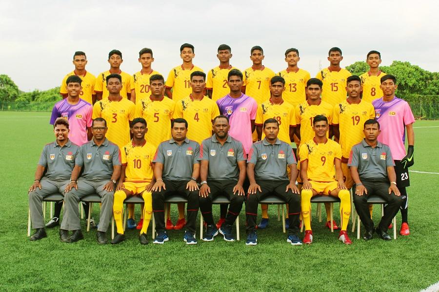 Sri Lanka Squad - SAFF U18 Championship 2019