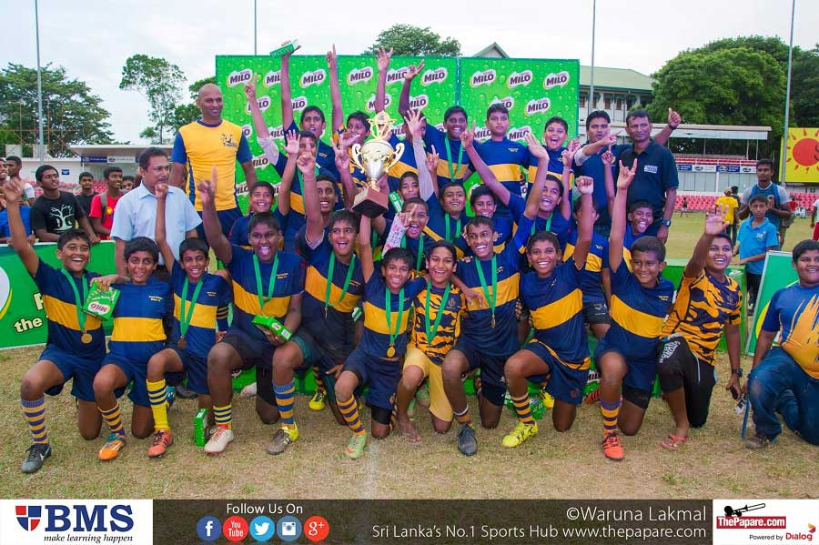 Royal College defeated Isipathana College 14-10 to win the title