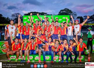 Unbeaten Trinity crowned Under 16 Champions