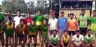 All Island Schools Games Volleyball final report