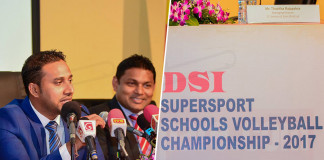DSI supersport school Volleyball tournament Press conference
