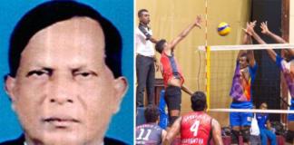 Wimal Amarasinghe President and Kapila Bannahaka Secretary in Sri Lanka Volleyball Referees Association 2020