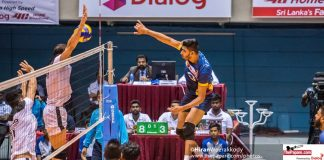Sri Lanka Men's National Volleyball