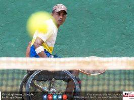 Double gold for Sri Lanka Wheelchair Tenni
