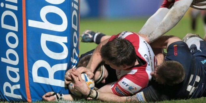 World rugby outlaw tries from balls grounded against post protector