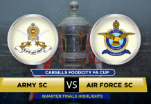 Army SC v Air Force SC - FA Cup 2016 QF 3
